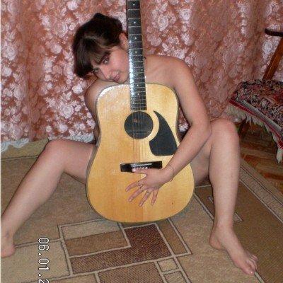 A gitár és a punci jó párosítás